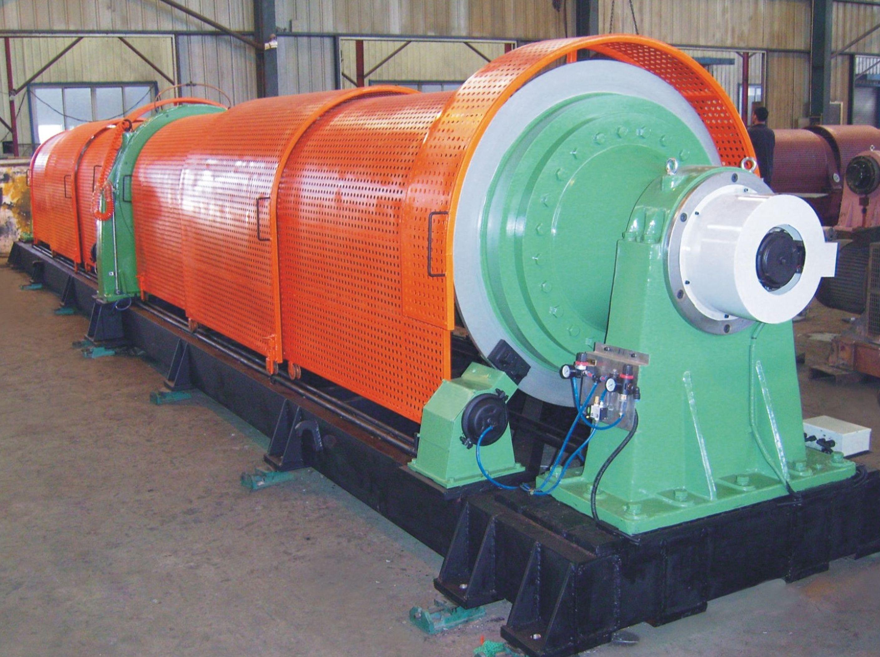 Tubular stranding machines (bearing type)